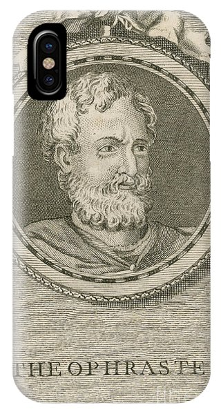 Theophrastus, Ancient Greek Polymath IPhone Case
