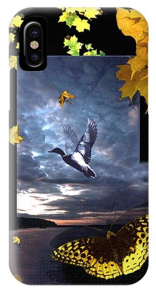Third Canvas IPhone Case