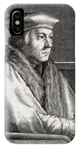 Thomas Cromwell, English Statesman Phone Case by Middle Temple Library
