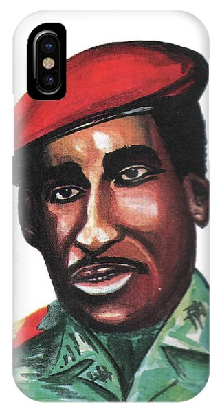 Thomas Sankara IPhone Case
