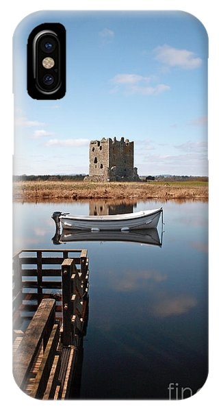 Threave Castle Reflection IPhone Case