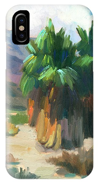 Lutheran iPhone Case - Three Palms by Diane McClary