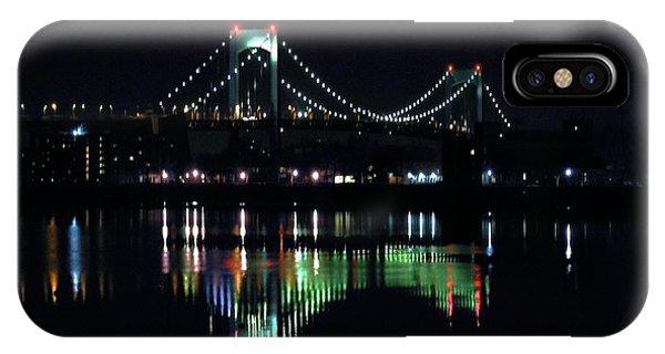 Throggs Neck Bridge IPhone Case