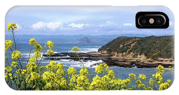 Through Yellow Flowers IPhone Case