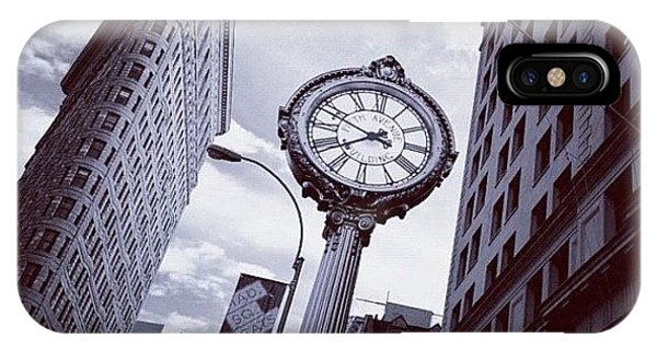 Instagram iPhone Case - Tick Tock by Randy Lemoine