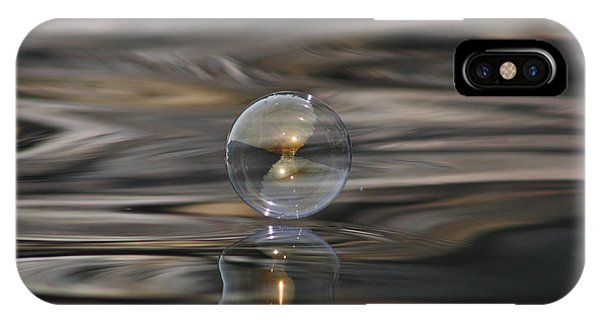 Tiger Water Bubble IPhone Case