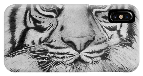 Tiger's Eyes IPhone Case