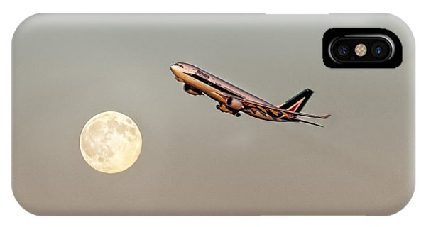 Alitalia iPhone Case - To Italy With Love by S Paul Sahm