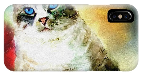 Toby The Cat IPhone Case