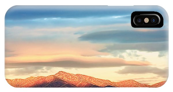 Tooele County Mountains At Sunrise IPhone Case
