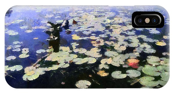 Torch River Water Lilies 3.0 IPhone Case