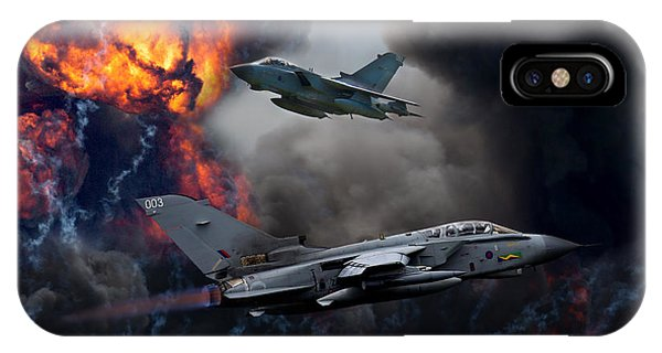 Tornado Gr4 Attack IPhone Case