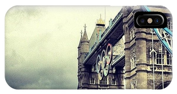 London2012 iPhone Case - Tower Bridge 2012 by Samuel Gunnell