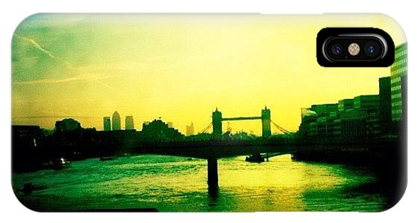 Beautiful Sunrise iPhone Case - Tower Bridge At Sunrise by Samuel Gunnell