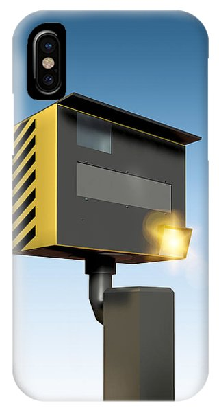 Traffic Speed Camera Phone Case by Victor Habbick Visions