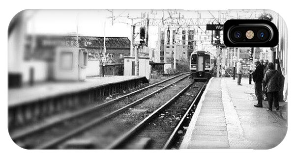 Classic iPhone Case - #train #trainstation #station by Abdelrahman Alawwad