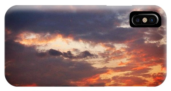 Sunset iPhone Case - Tramonto A Roma by Luisa Azzolini