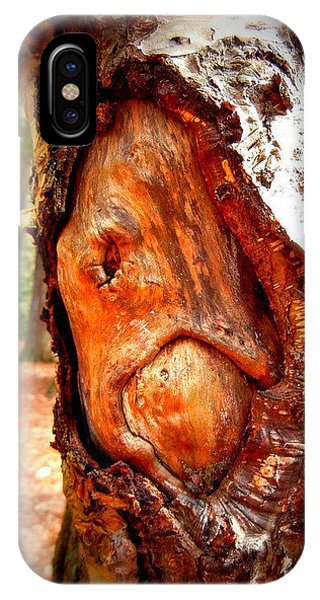 Tree Face Phone Case by Vix Views