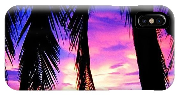 Sunset iPhone Case - Tropical Sunset by Luisa Azzolini