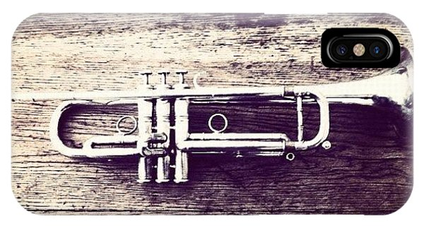 Music iPhone Case - Trumpet by Giuseppe Anello