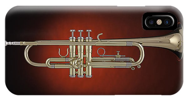 Trumpet Red Spotlight  IPhone Case