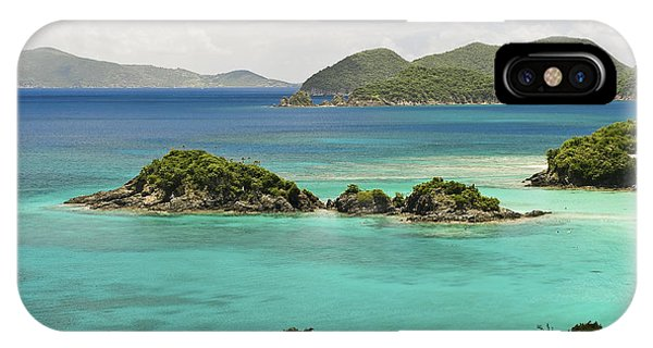 Trunk Bay St John  IPhone Case