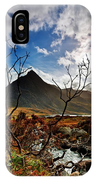 Tryfan And Tree IPhone Case