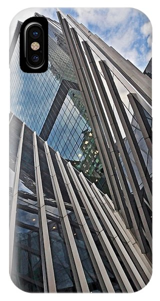 Trylon Towers IPhone Case