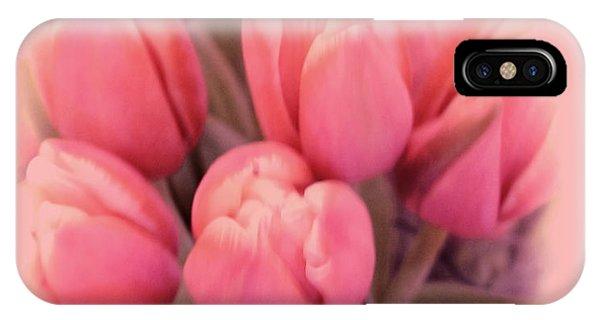 Tulips Splash Phone Case by Debra     Vatalaro