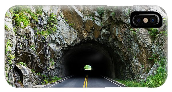 Tunnel On A Lonely Road IPhone Case