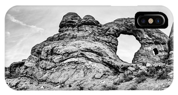 Arches National Park iPhone Case - Turret Pano by Chad Dutson