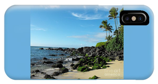Turtle Beach Oahu Hawaii IPhone Case