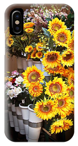 Tuscan Flower Stand IPhone Case