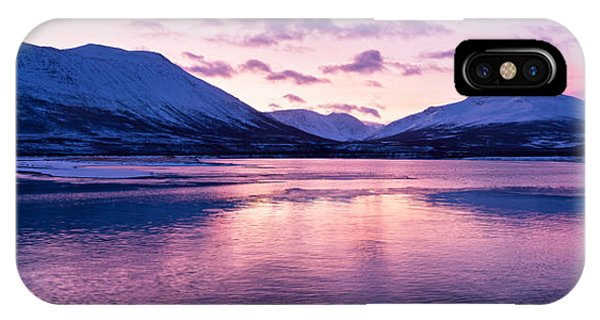 Twilight Above A Fjord In Norway With Beautifully Colors IPhone Case