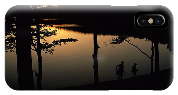 Twilight Over Walden Pond, Made Famous IPhone Case