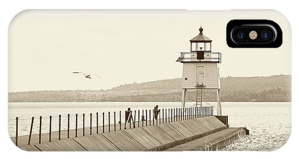 Two Harbors IPhone Case