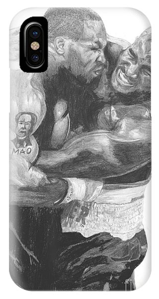 Tyson Vs Holyfield IPhone Case
