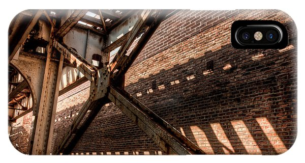 Under The L Tracks IPhone Case