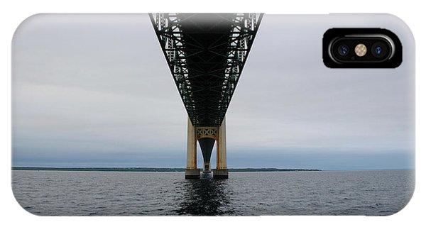 Under The Mackinac Bridge IPhone Case
