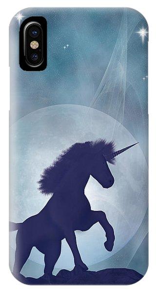 Unicorn iPhone Case - Unicorn by Carol and Mike Werner
