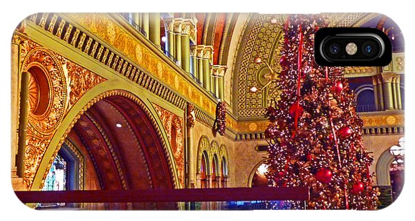 st louis union station iphone case union station christmas by william fields