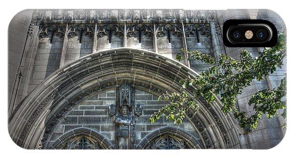 University Of Chicago Chapel Phone Case by David Bearden