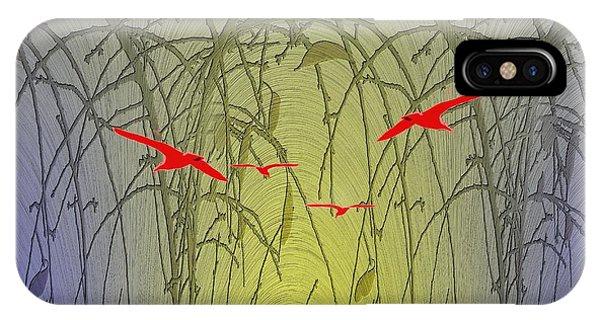 Avian iPhone Case - Unto The Technicolor Rainbow by Tim Allen