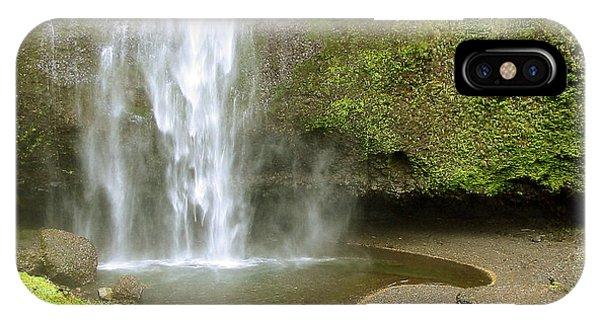 Upper Cascade Pool Multnomah Falls Or IPhone Case