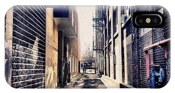 Instahub iPhone Case - Urban Alley by Christopher Campbell