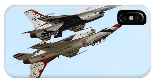 Usaf Thunderbirds Display Pair IPhone Case