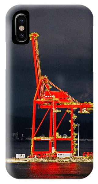 Sonne iPhone Case - Vancouver, Bc - Harbour by Juergen Weiss