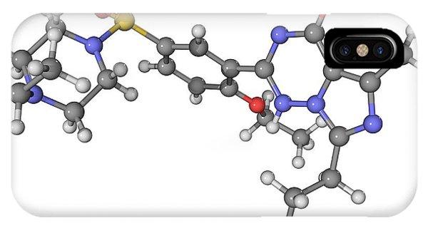 Vardenafil Erectile Dysfunction Drug Phone Case by Laguna Design