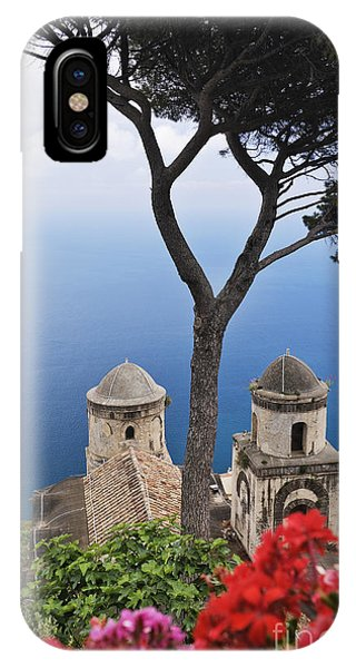 View From Villa Rufolo Gardens Phone Case by Jeremy Woodhouse