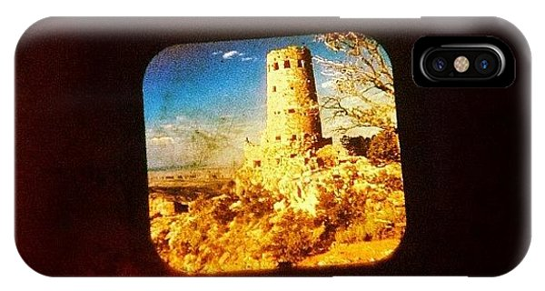 View-master Grand Canyon Watchtower IPhone Case